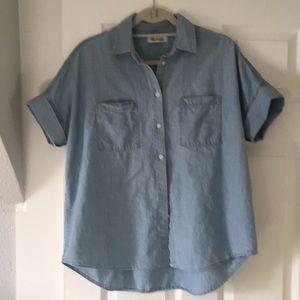 Madewell Central Chambray shirt - medium